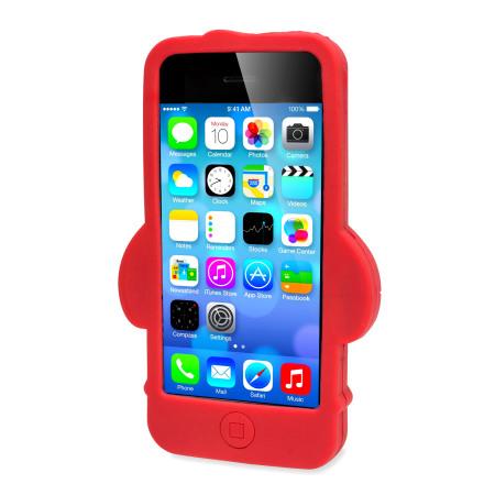 Olixar 3D Santa IPhone 5S 5 Silicone Case