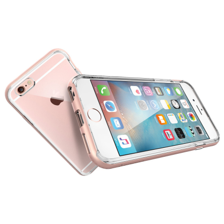 competitive price 8a7c5 edbbb Spigen Neo Hybrid Ex iPhone 6S / 6 Bumper Case - Rose Gold