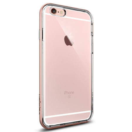 competitive price 0ae67 d09ae Spigen Neo Hybrid Ex iPhone 6S / 6 Bumper Case - Rose Gold