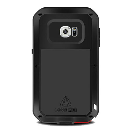 Love Mei Powerful Samsung Galaxy S6 Edge Plus Protective Case - Black
