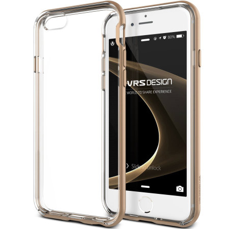 Verus Crystal Bumper iPhone 6S / 6 Case - Champagne Gold