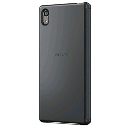 Official Sony Xperia Z5 Style Cover Smart Window Case - Black