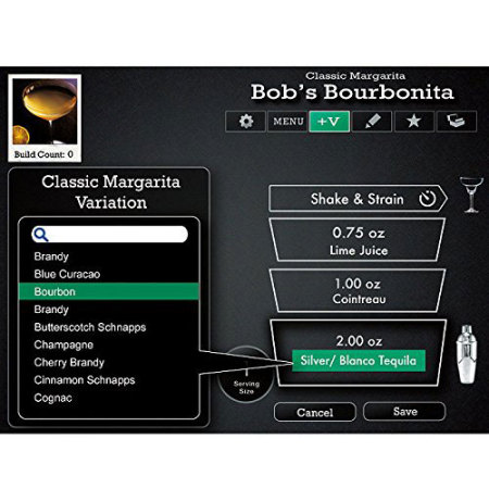 Perfect drink app controlled smart cocktails bartending for Perfect drink smart scale and app