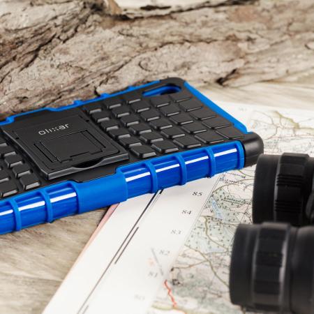 ArmourDillo Sony Xperia Z5 Protective Case - Blue