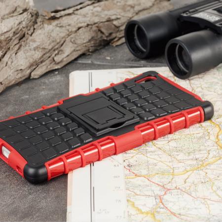 ArmourDillo Sony Xperia Z5 Protective Case - Red