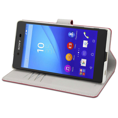 Muvit Wallet Folio MFX Sony Xperia Z5 Premium Case - Red