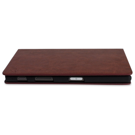 Olixar Leather-Style Sony Xperia Z5 Wallet Stand Case - Brown
