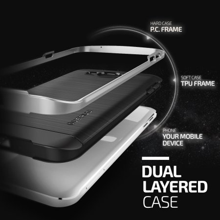 Verus High Pro Shield Series Samsung Galaxy A8 Case - Light Silver