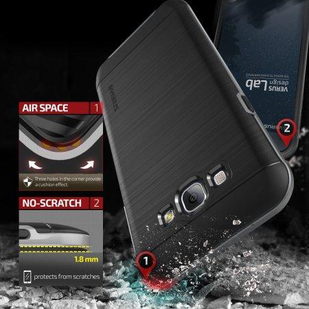 Verus High Pro Shield Series Samsung Galaxy A8 Case - Steel Silver