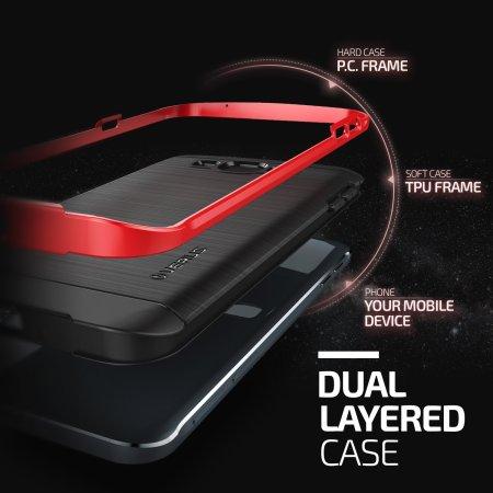 Verus High Pro Shield Series Samsung Galaxy A8 Case - Crimson Red