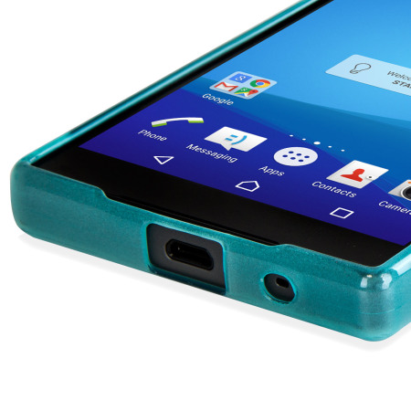 FlexiShield Sony Xperia Z5 Compact Case - Blue