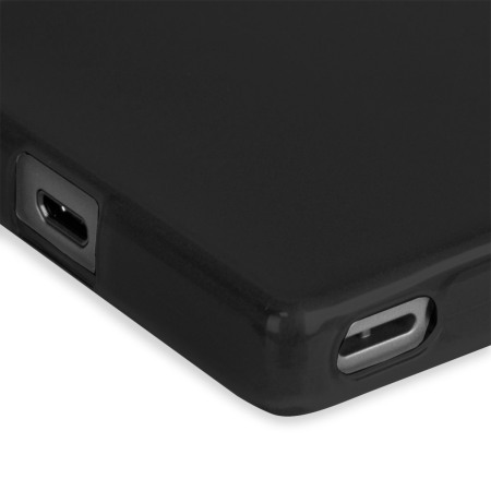 think flexishield sony xperia z5 compact case black Android has