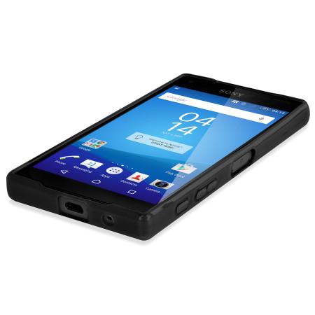 ways finance flexishield sony xperia z5 compact case black basic