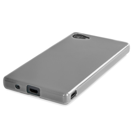 reputable site a1d25 851e3 Olixar FlexiShield Sony Xperia Z5 Compact Case - Frost White