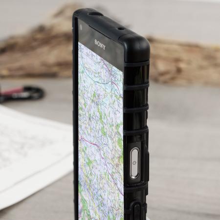nice olixar armourdillo sony xperia z3 compact protective case black great