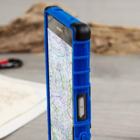 ArmourDillo Sony Xperia Z5 Compact Protective Case - Blue