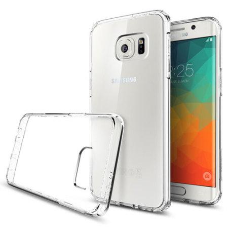 app will spigen ultra hybrid samsung galaxy s6 edge case crystal clear and