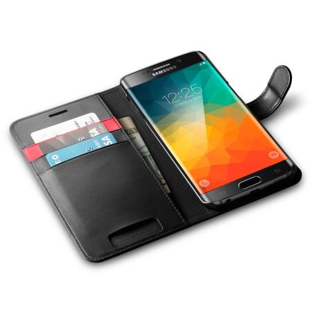 add new contact spigen samsung galaxy s6 edge wallet s case black the present
