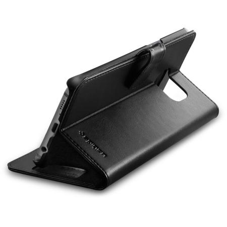 spigen samsung galaxy s6 edge wallet s case black you