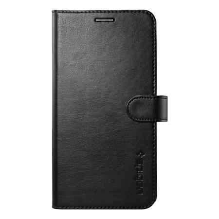 spigen samsung galaxy s6 edge wallet s case black while