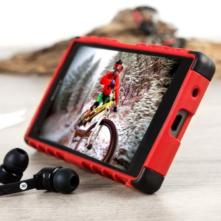 Olixar ArmourDillo Sony Xperia Z5 Compact Protective Case - Red