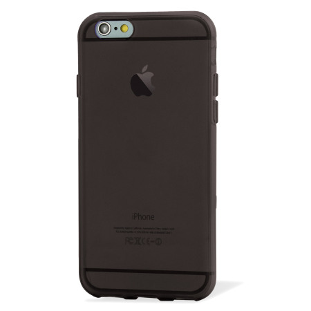FlexiShield iPhone 6S Gel Case - Smoke Black