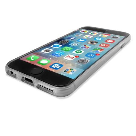 FlexiShield iPhone 6S Gel Case - Frost White