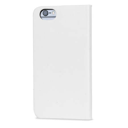 Olixar Leather-Style iPhone 6S Plus / 6 Plus Wallet Stand Case - White