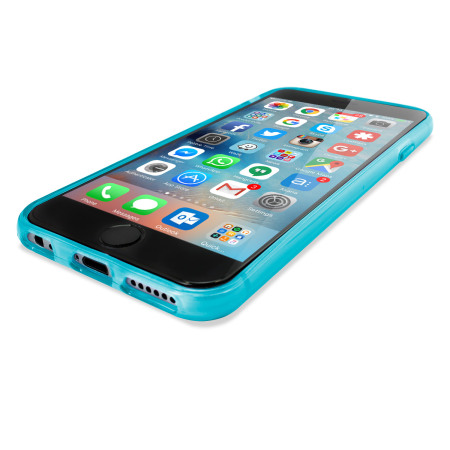 FlexiShield iPhone 6S Gel Case - Light Blue