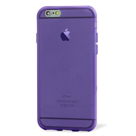 FlexiShield iPhone 6S Gel Case - Purple