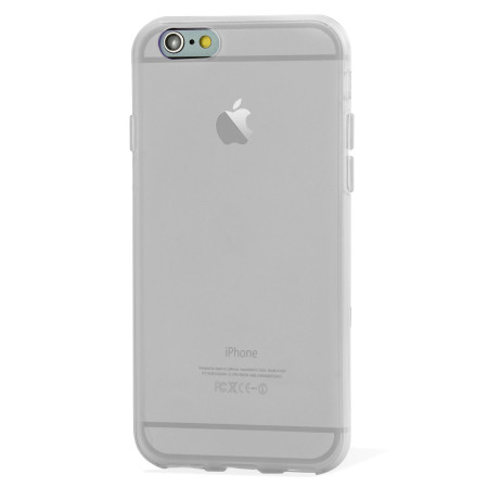 FlexiShield iPhone 6S Plus Gel Case - Frost White