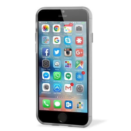 FlexiShield iPhone 6S Plus Gel Case - Frost White
