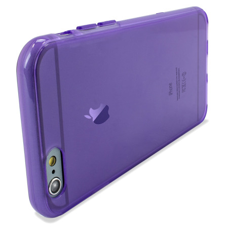 Olixar FlexiShield iPhone 6S Plus Gel Case - Purple