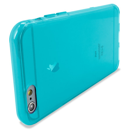 flexishield iphone 6s plus gel case light blue