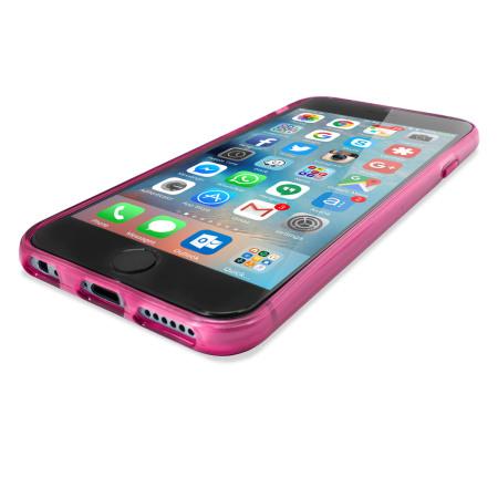 olixar flexishield iphone 6s 6 case frost white