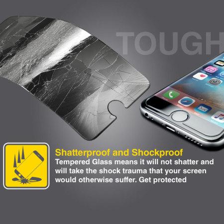 Olixar Olixar iPhone 6S Plus Tempered Glass Skärmskydd