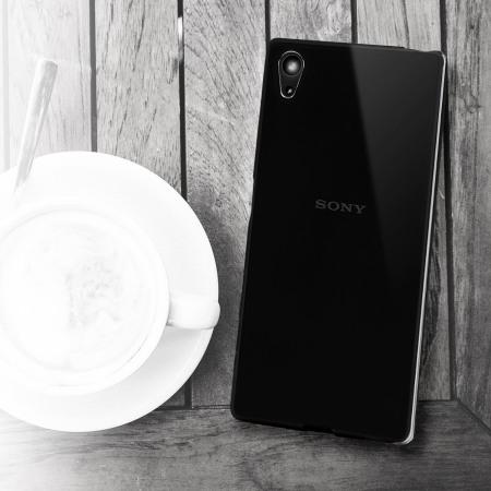 FlexiShield Sony Xperia Z5 Premium Case - Solid Black