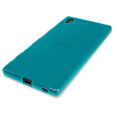 coque sony xperia z5 premium flexishield bleue