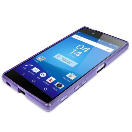 flexishield sony xperia z5 premium case   purple