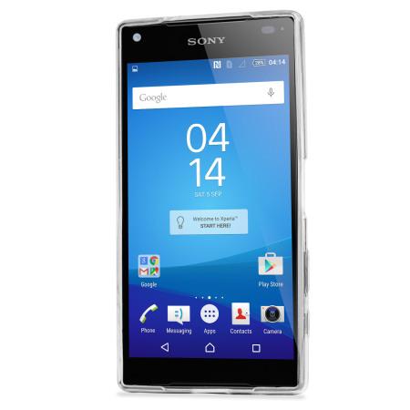 FlexiShield Ultra-Thin Sony Xperia Z5 Compact Gelskal - 100% Klar