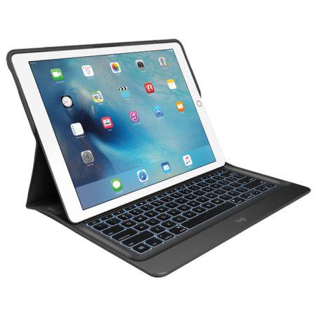 Logitech Create iPad Pro 12.9 2015 Backlit Keyboard Case - Black