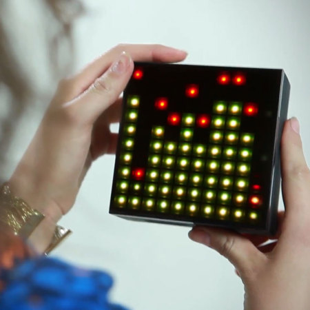 Enceinte Bluetooth LED Divoom AuraBox Smart Retro Pixel