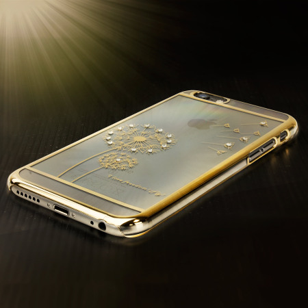 Olixar Dandelion iPhone 6S Plus / 6 Plus Shell Case - Gold / Clear