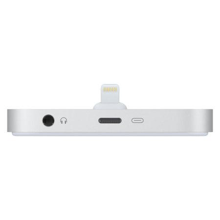 Original Apple iPhone Lightning Dock in Silber