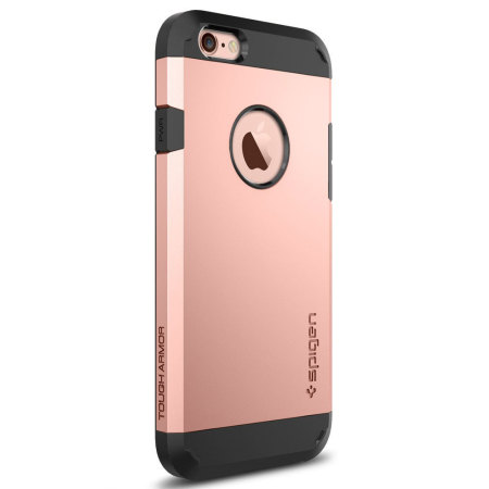 rose gold iphone case spigen tough armor iphone 6s 6 gold 16038