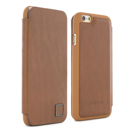 timeless design 3ab3b 02130 Proporta iPhone 6S Genuine Leather Contactless Case - Tan