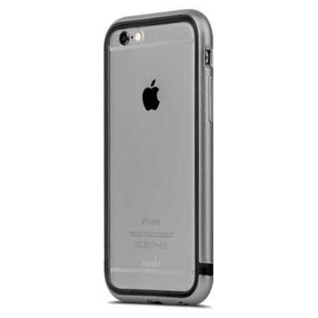 moshi iglaze luxe iphone 6s 6 bumper case space grey