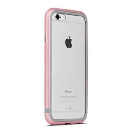 When moshi iglaze luxe iphone 6s 6 bumper case rose gold over all the