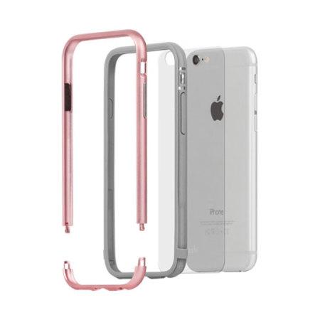 Mobile News moshi iglaze luxe iphone 6s 6 bumper case rose gold can fix