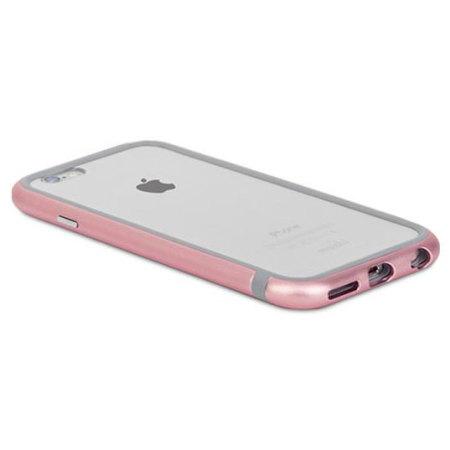 are moshi iglaze luxe iphone 6s 6 bumper case rose gold success